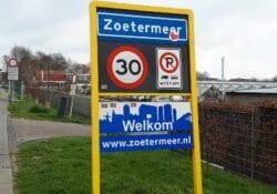 Plaatsnamenbord Zoetermeer