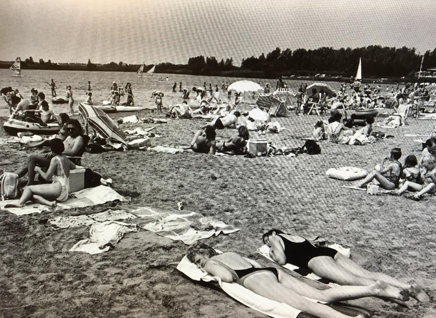 Noord Aa strand Zoetermeer