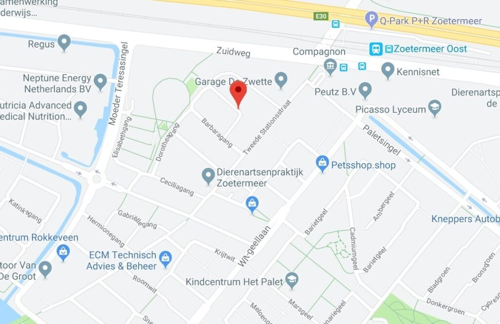 Straat Zoetermeer