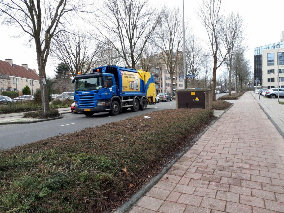 Vuilniswagen gemeente Zoetermeer