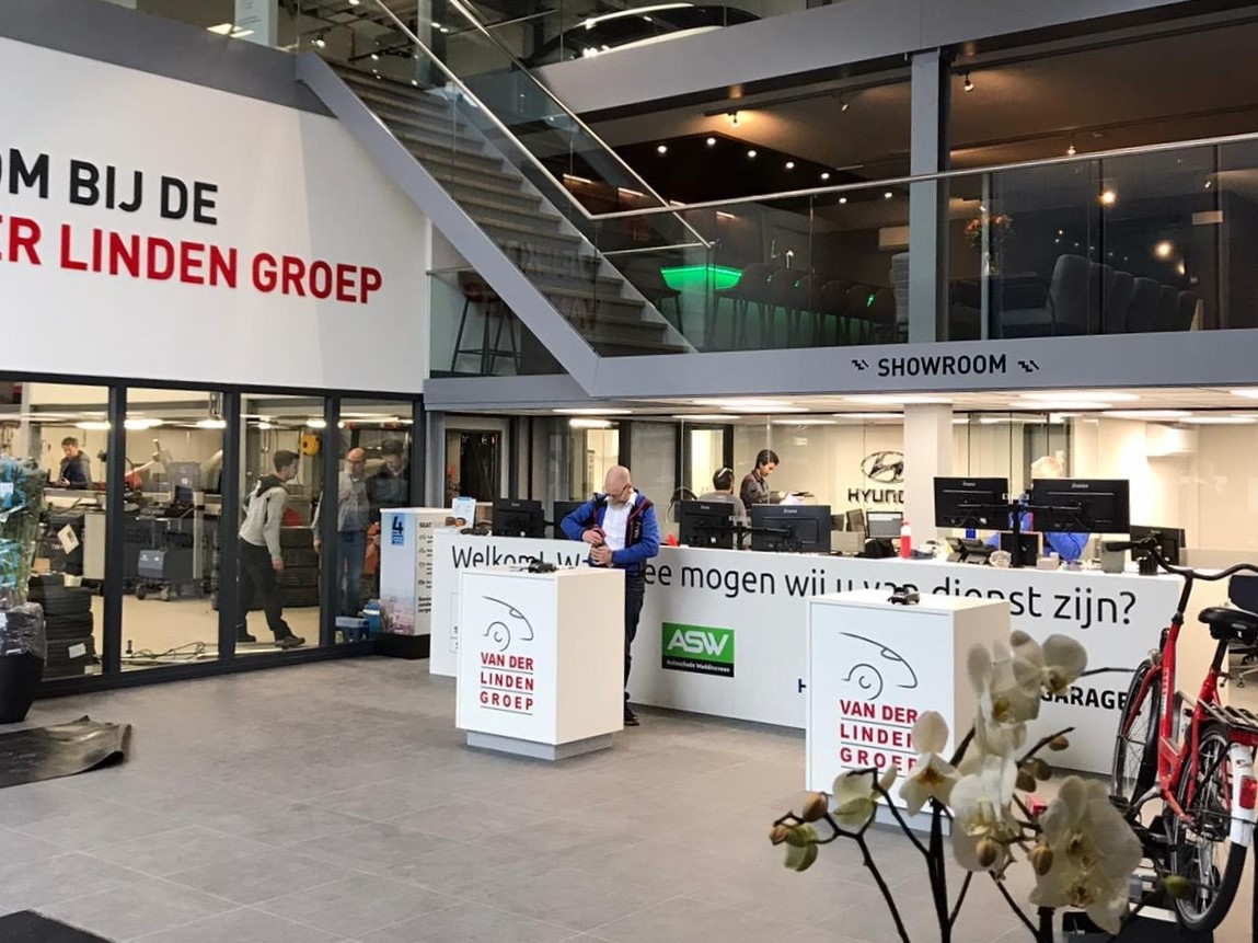 Van der Linden Groep Zoetermeer - binnenkant