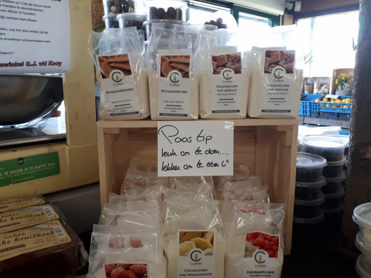 Bakproducten Van der Kooy