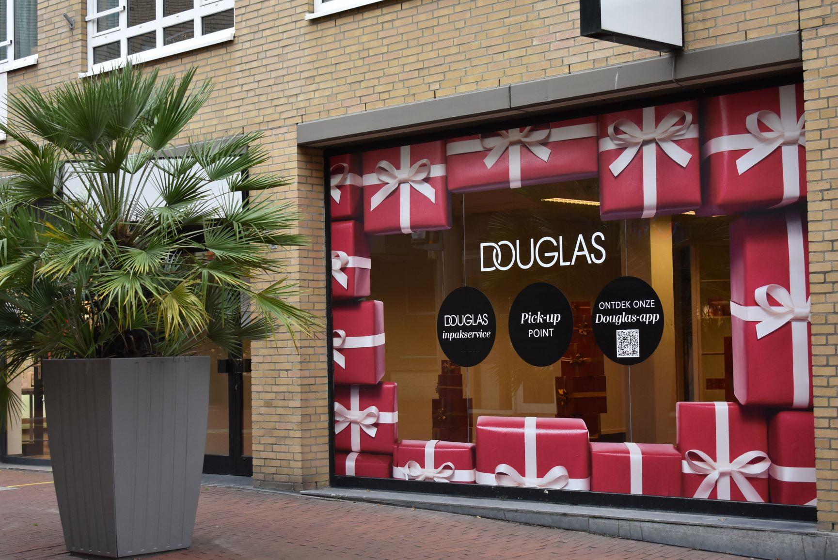 Douglas pop up-inpakstore