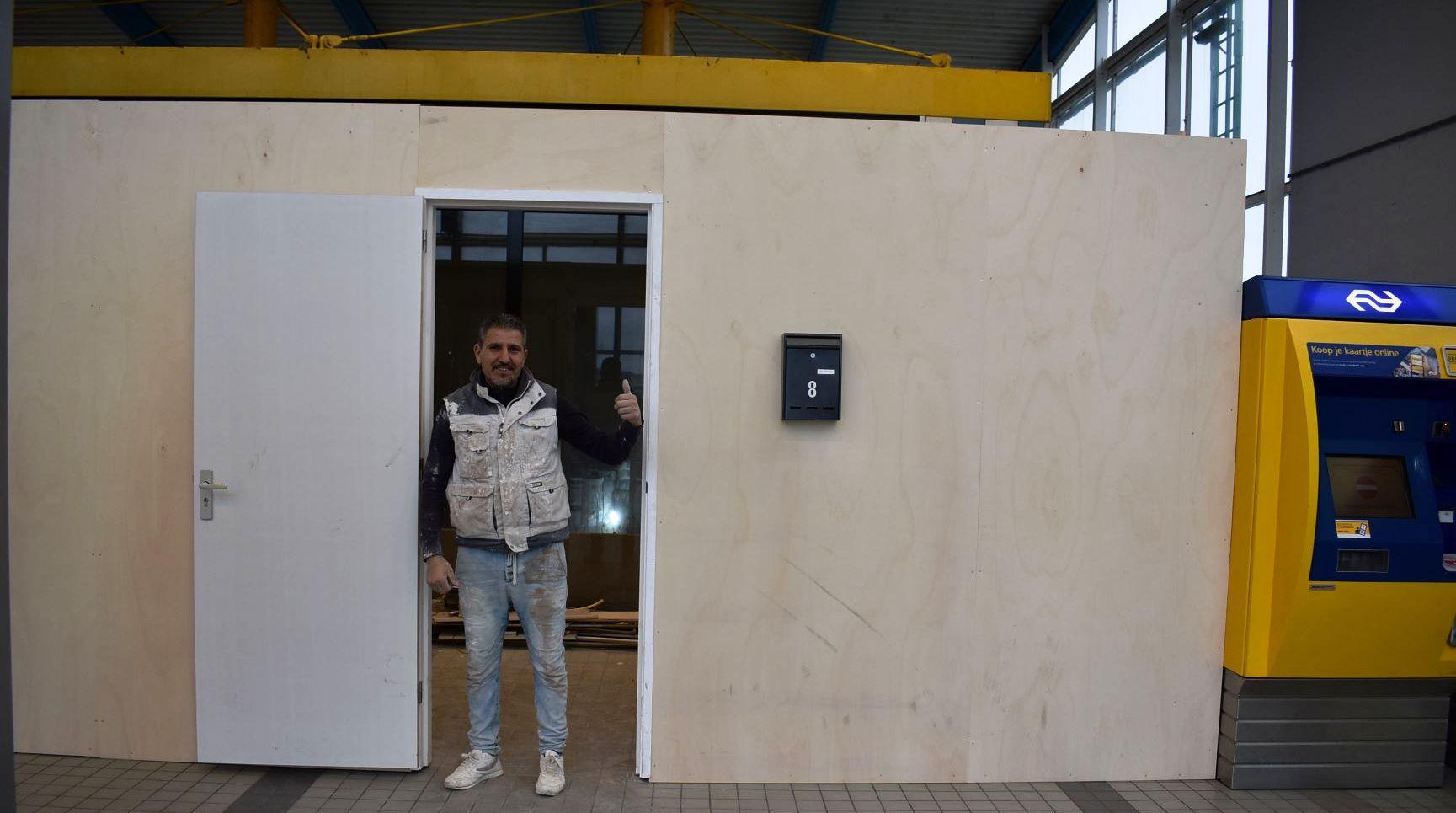 Kiosk treinstation Zoetermeer