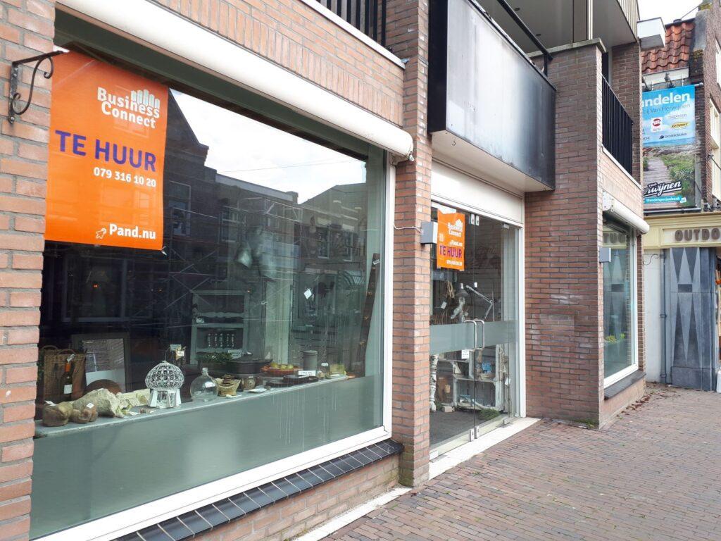 Winkelruimte te huur Zoetermeer