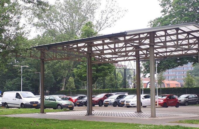 Parkeerterrein Nicolaaspark