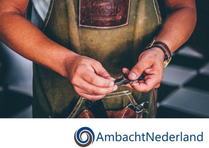 AmbachtNederland foto + logo