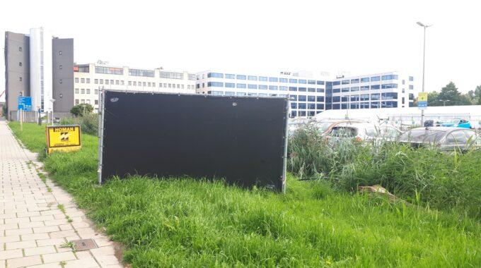Zwarte schermen Zoetermeer