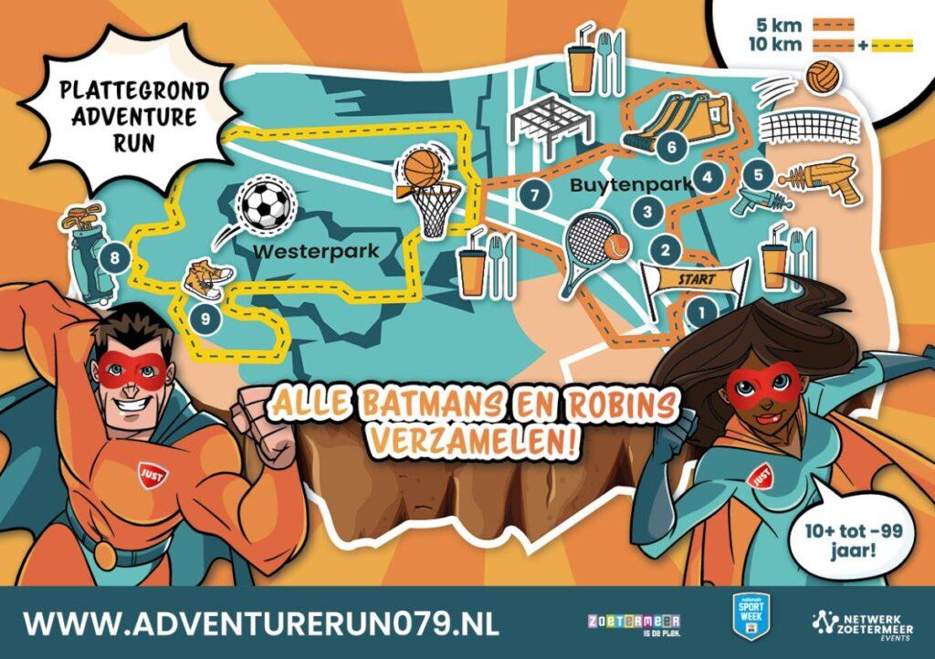 Adventure Run flyer A5