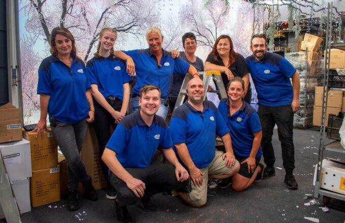 Tuincentrum de Driesprong - Kerstshow 2021, team