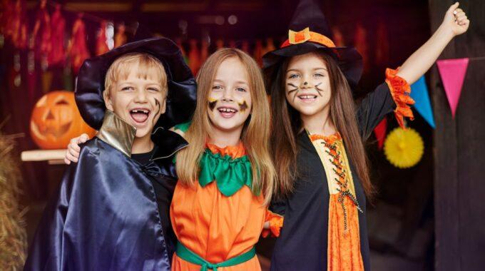 Halloween in winkelcentrum Oosterheem