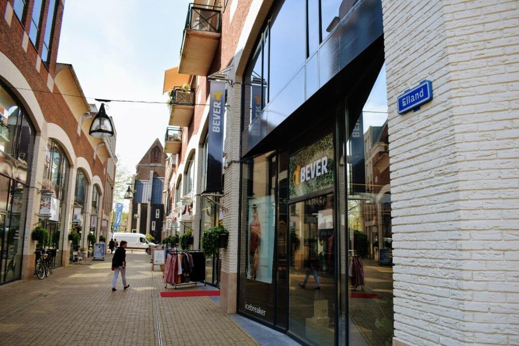 winkelcentrum het eiland Zwolle