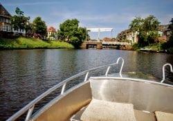Rondvaart Zwolle fluisterbootjes