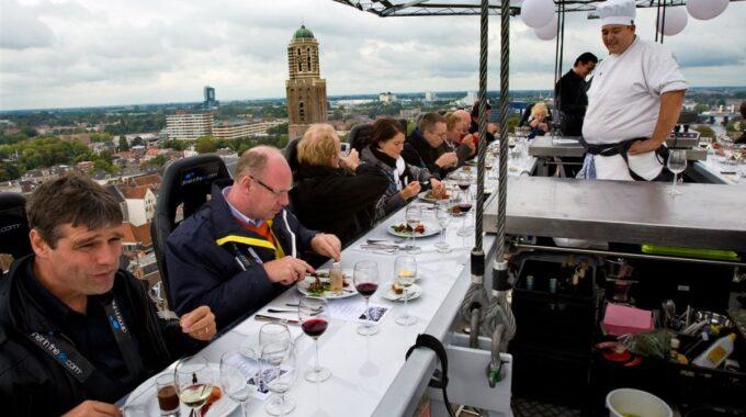 dineren hoogte Zwolle