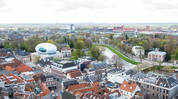 luchtfoto Zwolle