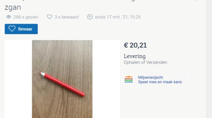 Marktplaats Zwolle potlood