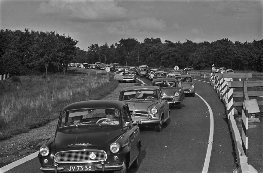 File Zwolle-Harderwijk in 1965