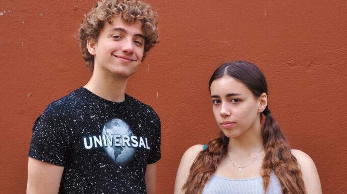 Gabriëlle Hofmann en Lucas Snijder