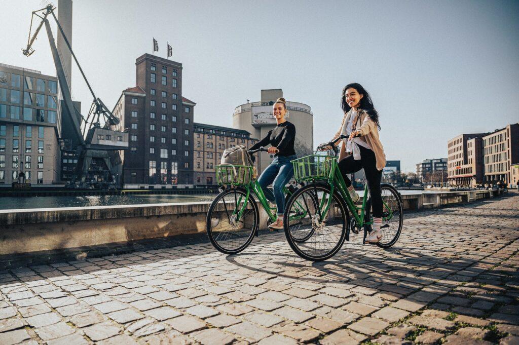fietsen stad fiets huren