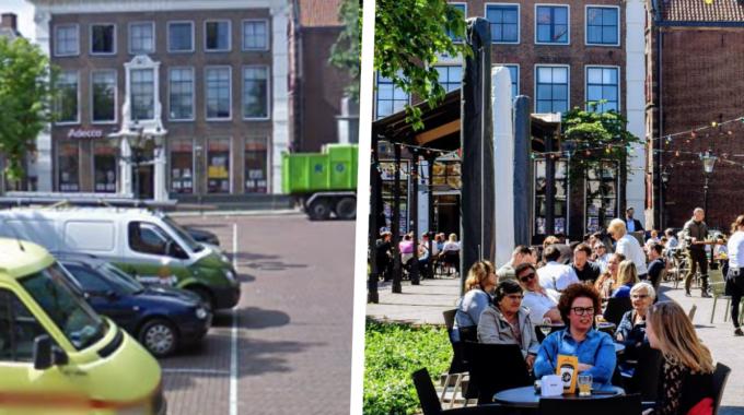 Nieuwe Markt Zwolle parkeren