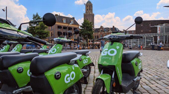 Deelscooters in Zwolle