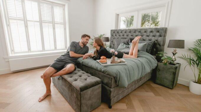 hotel sfeer slaapkamer
