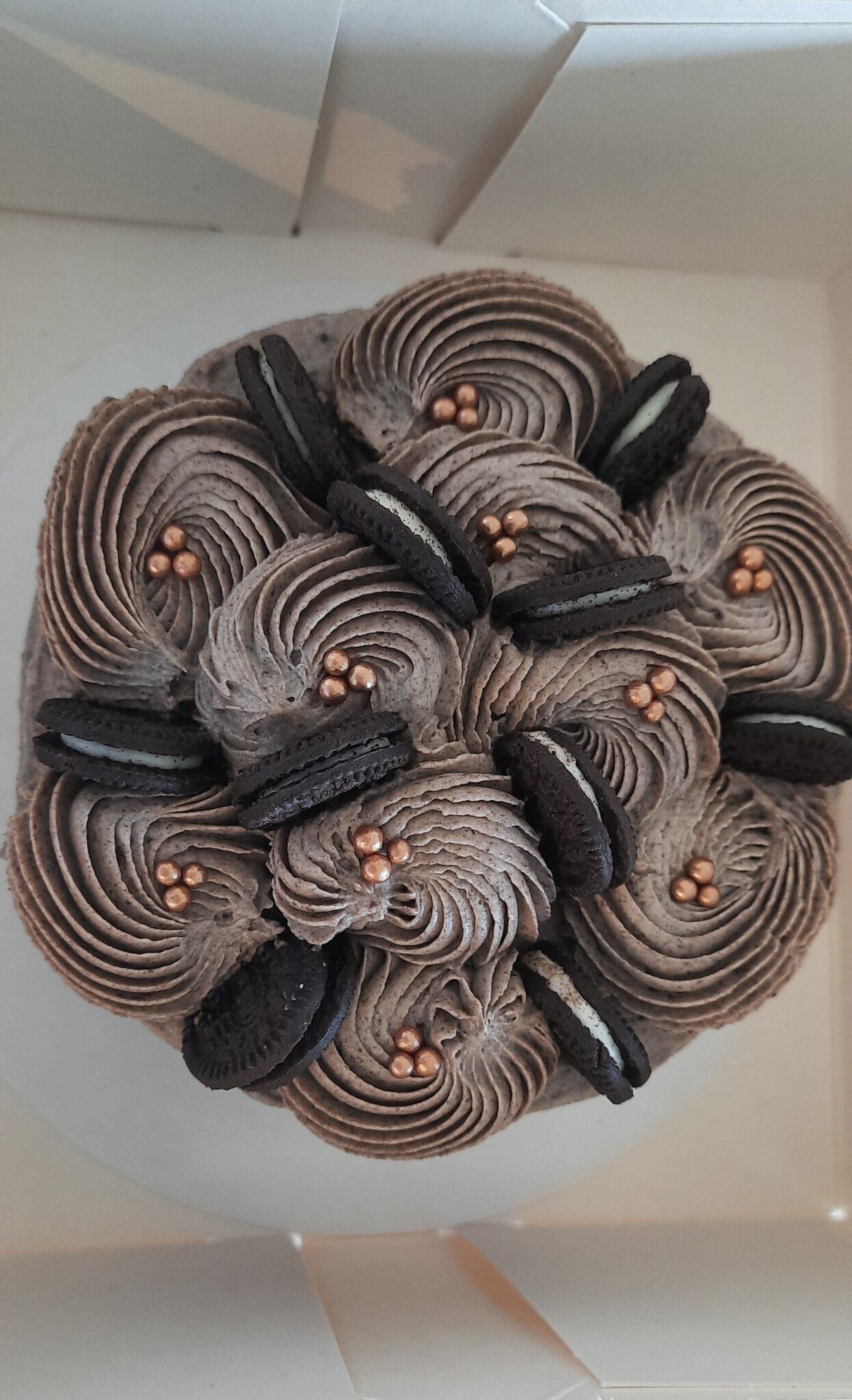 Mini Oreo taart