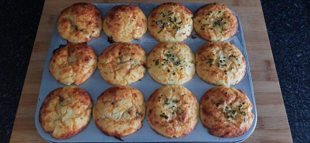 Polentini-muffins