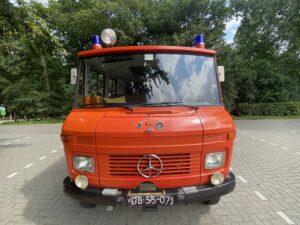 De brandweerwagen