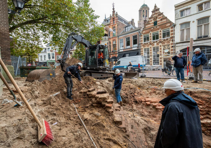 opgravingen Zwolle